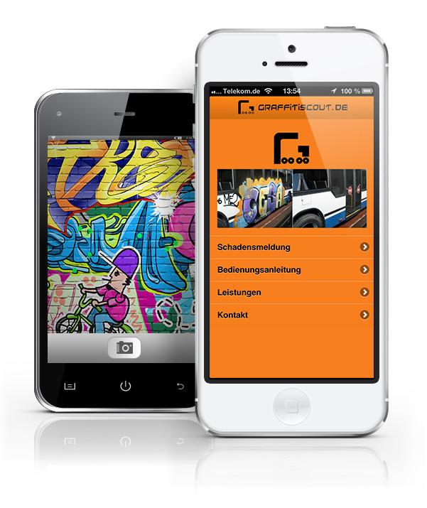 Graffitiscout-Smartphones