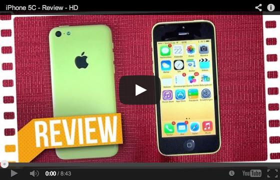 Thumbnail-Bild zum Review über das iPhone 5C von AlexiBexi