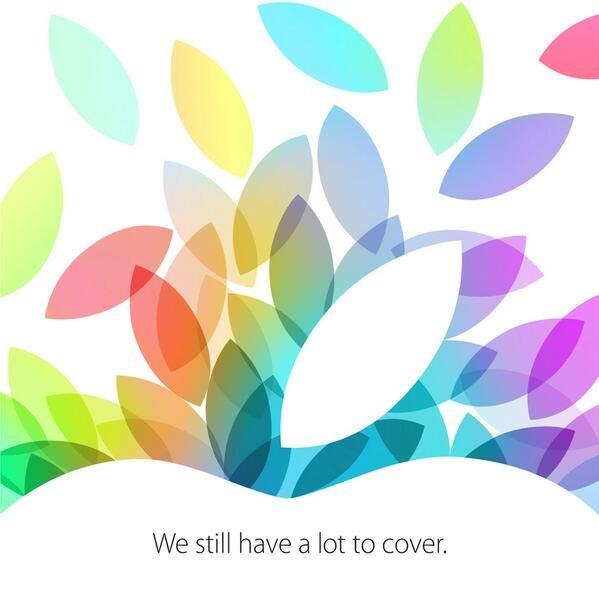 Die Einladung zur Apple Keynote am 22. Oktober 2013