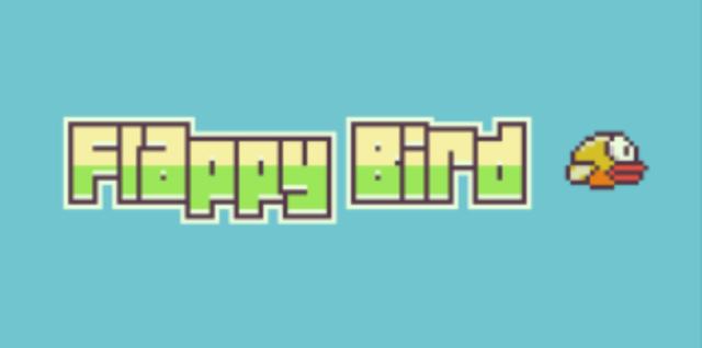 """Das Logo der App """"Flappy Bird""""."""
