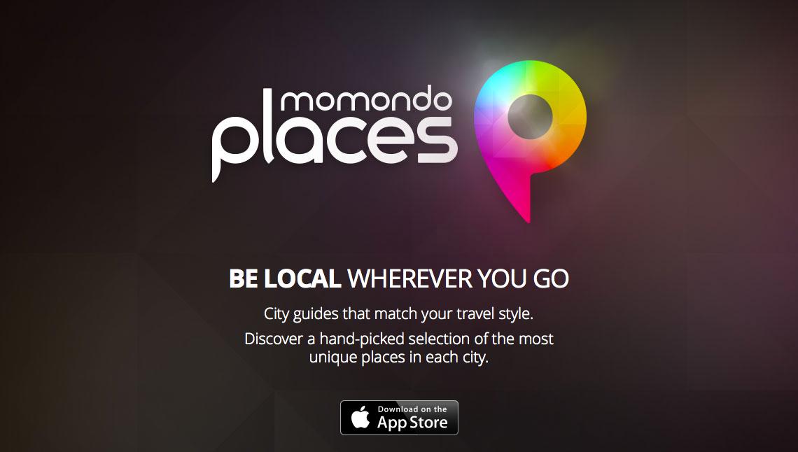 Die App momondo places bietet City-Guides für die beliebtesten Städte an.