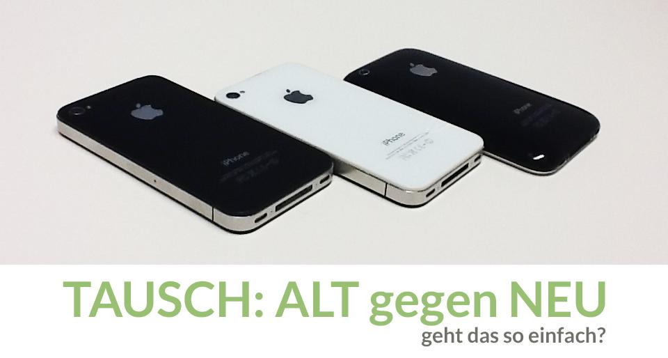 Endlich könnt Ihr auch in Deutschland Euer altes iPhon für ein Neues in Zahlung geben!