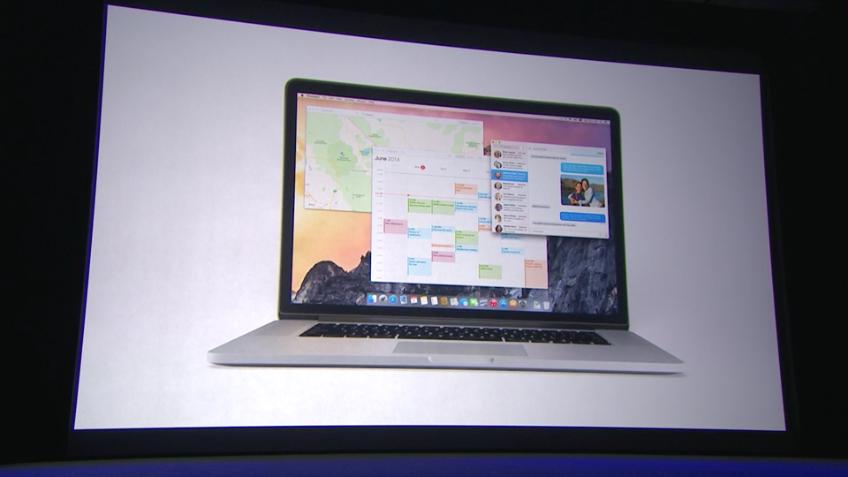 OS X Yosemite - komplett