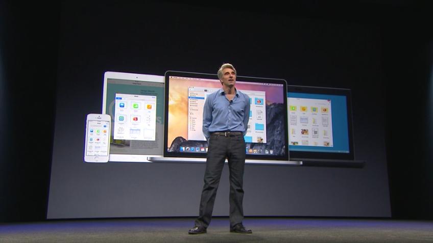 OS X Yosemite - iCloud