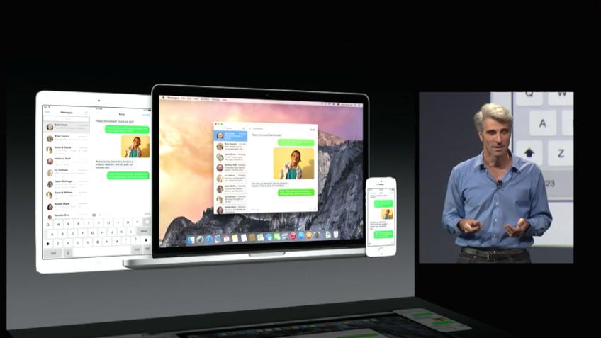 OS X Yosemite - Handoff