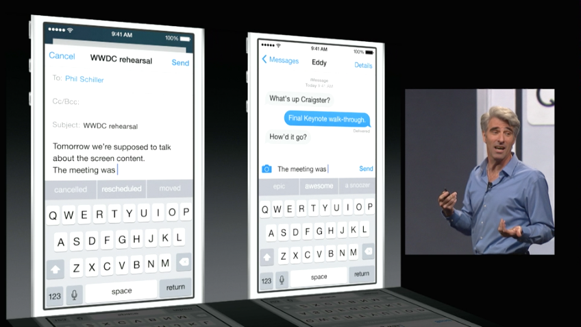 iOS 8 - QuickType