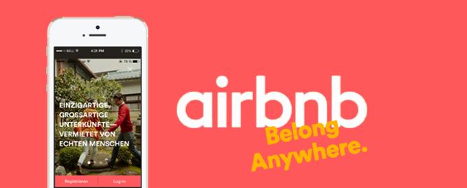 Airbnb stellt sich die Aufgabe, aus Reisen ein Heim-kommen zu machen.