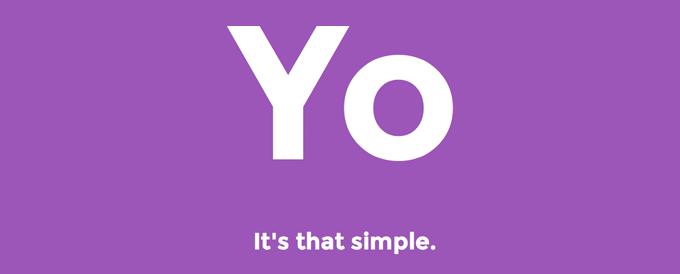 Die App Yo. behauptet, dass es genau so einfach ist: Ein simples 'Yo.' reicht aus.