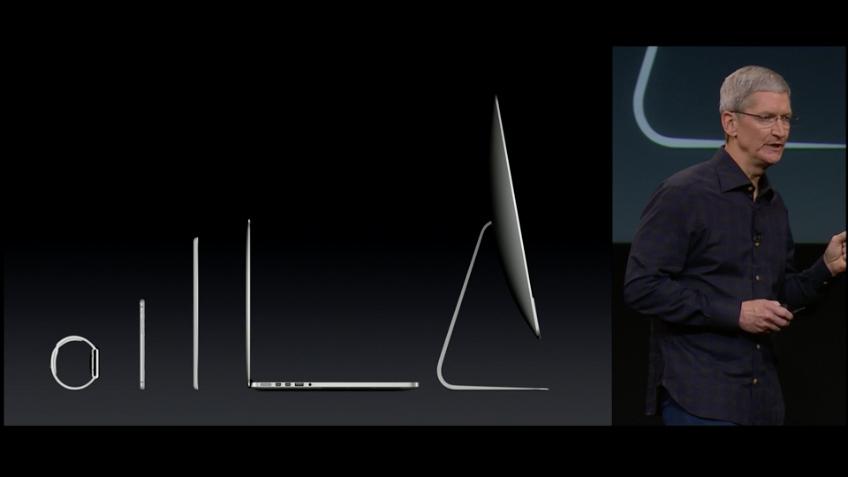 Die Apple Produktpalette