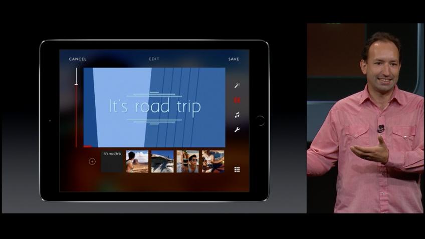 Replay App auf dem iPad