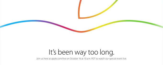 Titelbild Apple Keynote Okt 2014