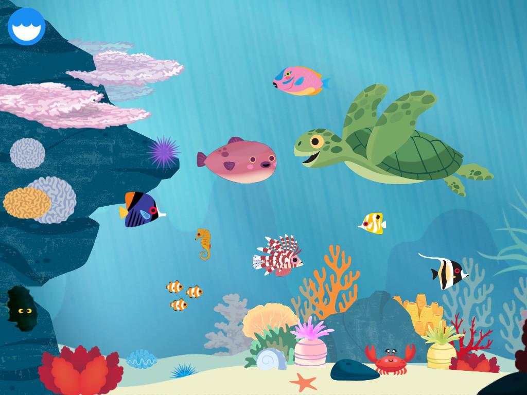 In der MarcoPolo Ozean App können Kinder alles über Korallenriffe lernen.