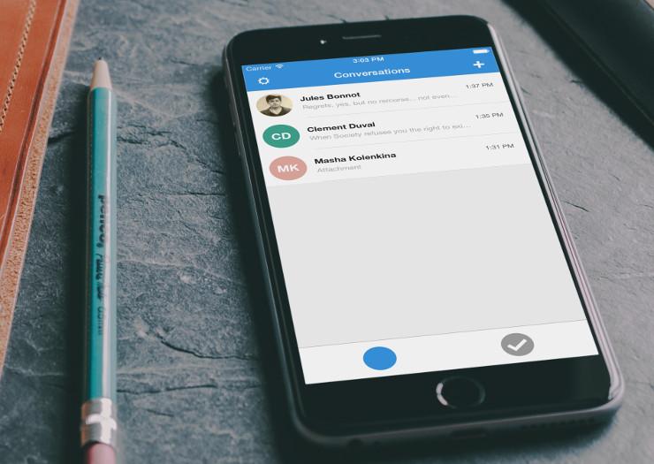 Signal – Chatfunktion