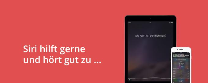 Titelbild Siri Datenschutz
