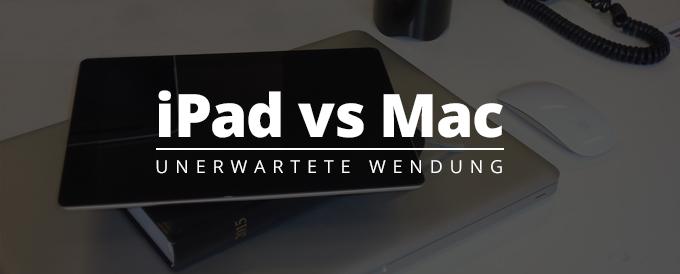 Titelbild iPad vs Mac