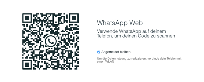 Titelbild WhatsApp Web